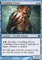 Theros: Crackling Triton