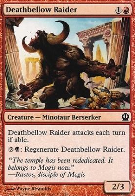 Theros Foil: Deathbellow Raider