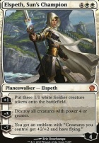 Theros Foil: Elspeth, Sun's Champion