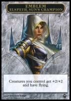 Theros: Emblem (Elspeth, Sun's Champion)