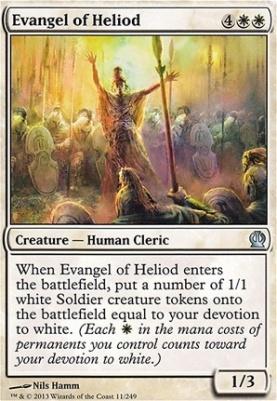 Theros Foil: Evangel of Heliod