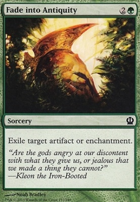 Theros Foil: Fade into Antiquity