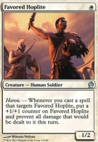Theros Foil: Favored Hoplite