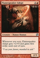 Theros Foil: Flamespeaker Adept