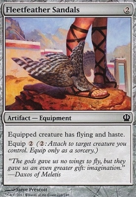 Theros: Fleetfeather Sandals