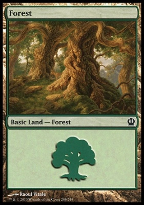 Theros: Forest (249 D)