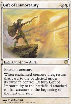 Theros Foil: Gift of Immortality
