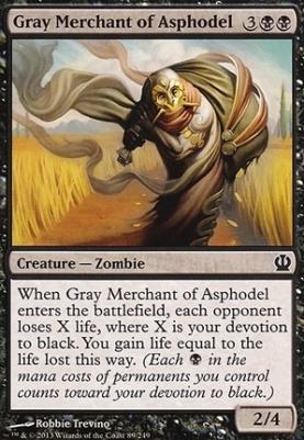 Theros: Gray Merchant of Asphodel