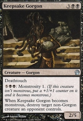 Theros: Keepsake Gorgon