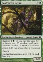 Theros Foil: Leafcrown Dryad