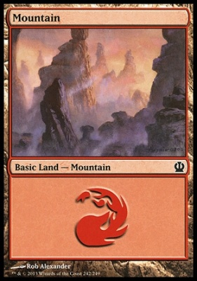 Theros: Mountain (242 A)