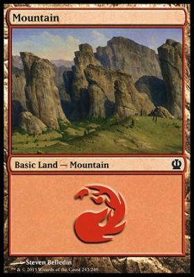 Theros: Mountain (243 B)
