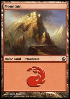 Theros: Mountain (244 C)