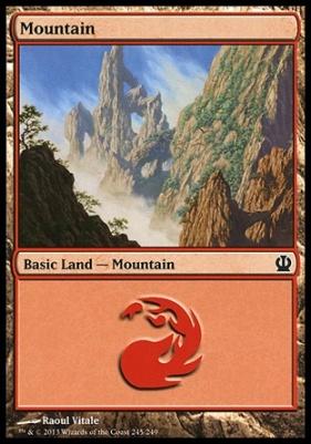 Theros: Mountain (245 D)