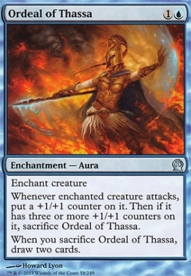 Theros Foil: Ordeal of Thassa