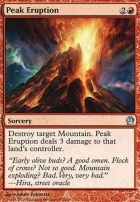 Theros Foil: Peak Eruption
