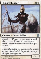 Theros Foil: Phalanx Leader