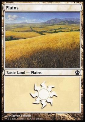 Theros: Plains (231 B)