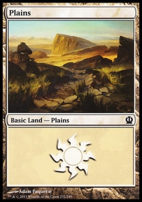 Theros: Plains (232 C)