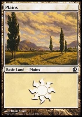 Theros: Plains (233 D)