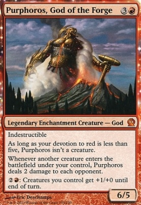 Theros: Purphoros, God of the Forge