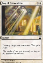 Theros Foil: Ray of Dissolution