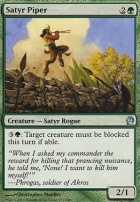 Theros Foil: Satyr Piper