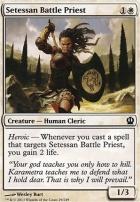 Theros Foil: Setessan Battle Priest