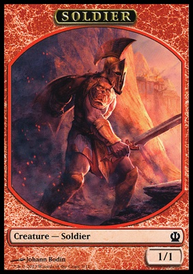Theros: Soldier Token (Bodin)