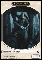 Theros: Soldier Token (McKinnon)