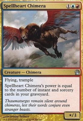 Theros Foil: Spellheart Chimera