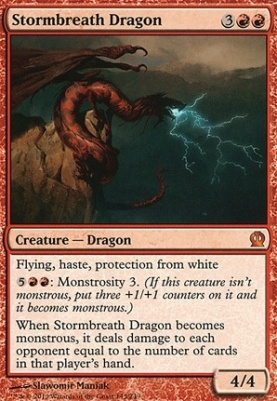 Theros: Stormbreath Dragon