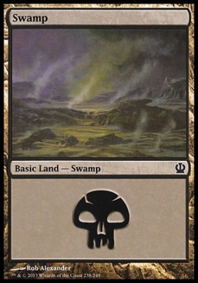 Theros: Swamp (238 A)