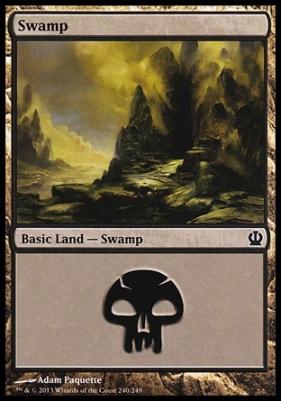Theros: Swamp (240 C)