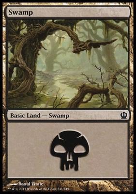 Theros: Swamp (241 D)