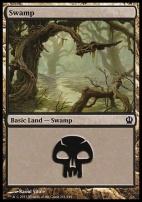 Theros Foil: Swamp (241 D)