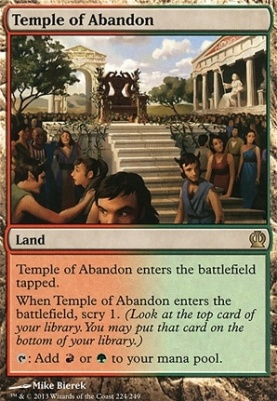 Theros: Temple of Abandon