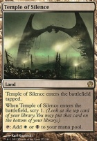 Theros Foil: Temple of Silence