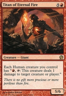 Theros: Titan of Eternal Fire