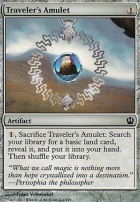 Theros Foil: Traveler's Amulet