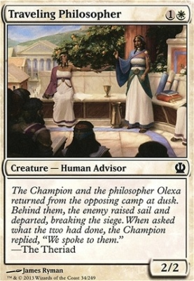 Theros Foil: Traveling Philosopher
