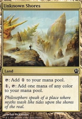 Mtg Modern Card Prices Theros Unknown Shores