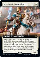 Throne of Eldraine Variants: Acclaimed Contender (Extended Art)