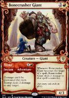 Throne of Eldraine Variants Foil: Bonecrusher Giant (Showcase)