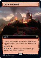 Throne of Eldraine Variants: Castle Embereth (Extended Art)