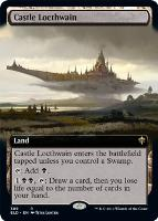 Throne of Eldraine Variants Foil: Castle Locthwain (Extended Art)