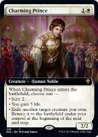 Throne of Eldraine Variants: Charming Prince (Extended Art)