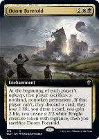 Throne of Eldraine Variants Foil: Doom Foretold (Extended Art)