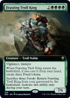 Throne of Eldraine Variants: Feasting Troll King (Extended Art)