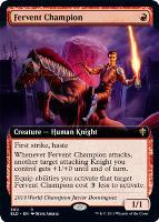 Throne of Eldraine Variants: Fervent Champion (Extended Art)